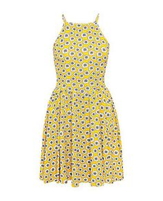 New look yellow daisy dress