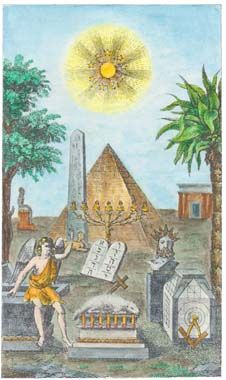 ☤alquimia - Frontispiece Engraving From Vuillaume Manuel Maconnique Alchemy Art, Alchemy Symbols, Magnum Opus, Tarot, Obelisk, Medieval Paintings, Esoteric Art, Arte Obscura, Occult Art