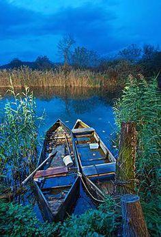 Lake Agra Edessa Macedonia Greece