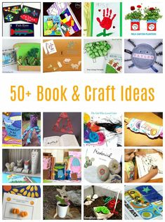 50+ Story and Craft Ideas for Children - Emma Owl #kidscrafts #easycraftsforkids #bookideas #kidsbooks #readingfun #wintercraftsfor kids #preschoolcrafts #kindergartencrafts Easy Crafts For Kids, Easy Diy Crafts, Toddler Crafts, Creative Crafts, Diy For Kids, Fun Crafts, Art Activities For Toddlers, Holiday Activities, Craft Activities
