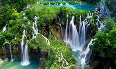 Plitvice waterfalls among most beautiful in the world say Conde Nast Traveler