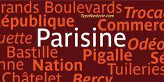 Parisine Std® - Desktop font « MyFonts