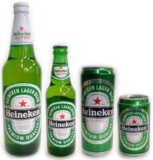 Heineken verschillende formaten