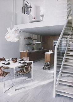 1000 images about go open plan on pinterest open plan contemporary bedroom and open concept - Studio plan met mezzanine ...