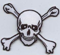 Jolly Roger Iron on Applique High quality 5e0ecf3dfe2e