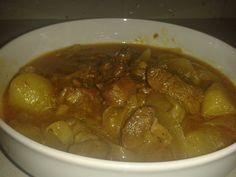Agnello al cocco  e curry