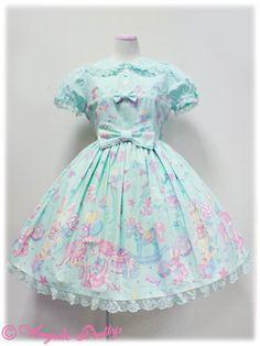 Angelic Pretty TOY PARADE Dress (Mint)