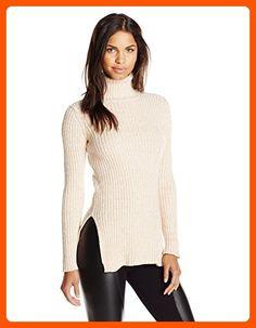 529c38858ffdbf BCBGeneration Women s Textured Turtleneck Fitted Sweater