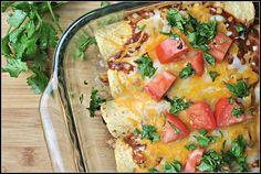 20 minute chicken enchiladas