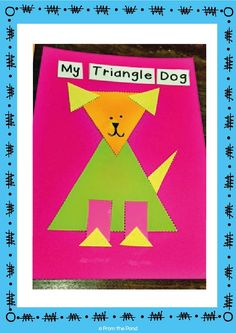 Shape Animal Crafts Shape Animal Crafts,From the Pond Printables Free Triangle Activity – Shape Craft from Shape Animal Crafts Printable Packet. Related posts:Magnetic face, activities for activities for activitie. Dog Crafts, Animal Crafts, Toddler Crafts, Kindergarten Activities, Preschool Activities, Preschool Shapes, Learning Shapes, Learning Spanish, Spanish Lessons