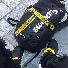 #offwhite #virgilabloh #supreme #streetwear #streetstyle #sneaker