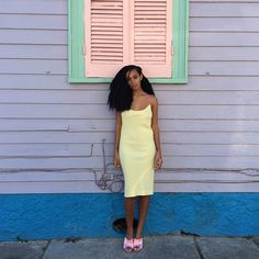 Solange turns 29 years young this week and we couldn't think of a better way to celebrate her than to count down the oh-so-many ways she slays. From her killer fashion sense to the way she speaks her mind, we're rounding up the reasons we love Solange. Image Mode, Solange Knowles, Celebs, Celebrities, Mellow Yellow, Looks Cool, Mode Style, Her Style, What To Wear