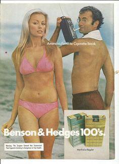 Benson & Hedges / America's favorite cigarette break (1974)