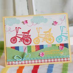 Welcome Spring Card - Scrapbook.com