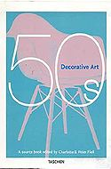 Interior design books like Decorative Art 50s by Charlotte + Peter Fiell