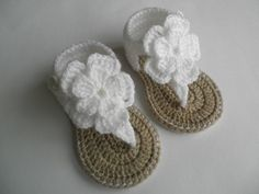 Crochet baby sandals, baby gladiator sandals, baby booties, baby shoes
