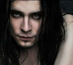Photo by Shawna Fender Gothic Men, Goth Guys, Character And Setting, Male Makeup, Long Locks, Lost Boys, Got The Look, Character Design Inspiration, Male Models