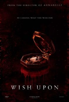 Wish Upon Horror Movie Poster