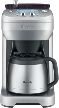 Breville BDC650BSS The Grind Control Drip Coffee Maker, Silver, Medium: Amazon.ca: Home & Kitchen Coffee Maker Reviews, Best Coffee Maker, Coffee Maker With Grinder, Drip Coffee Maker, Cappuccino Machine, Espresso Machine, Espresso Kitchen, Espresso Coffee, Krups Coffee