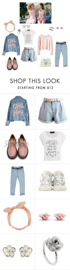 """Girlfriends"" by rebellious-ingenue ❤ liked on Polyvore featuring INDIE HAIR, High Heels Suicide, MTWTFSS Weekday, Retrò, MINKPINK, Boohoo, Converse, Arizona, Palm Beach Jewelry and Shaun Leane"