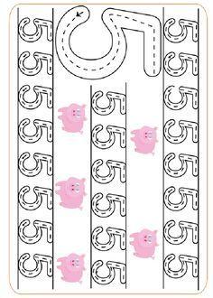 Printable Activities Practice writing the numbers .http://www.preschoolactivities.pequescuela.com/activities-preschool-print-graphomotor-numbers26.html