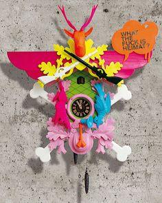 cette horloge contient plusieurs couleurs mais c'est une unité.