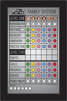 This is the best Family System I've ever used. Changed our home. Love the levels and my kids love that it's hands on with flipping their magnets. Earning tickets is very motivating and easy to manage. I've learned a lot about each child through the family store. You will not regret this purchase!