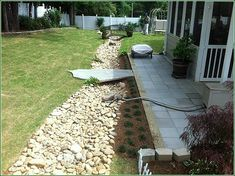 Gwinnett Drainage Solutions — ITM Landscape Drainage Solutions, Drainage Ideas, Landscape Solutions, Residential Landscaping, Lawn Sprinklers, Water Features In The Garden, Garden Landscape Design, Diy Patio, In Ground Pools