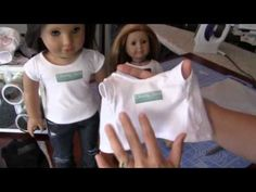 Video How to Make Iron-ons for your American Girl Doll (from Cinnamon from LibertyPatterns
