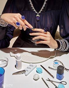 Happy Fingers: Allure Korea May 2015  by Thomas Lagrange - Harry Winston, De Grisgono, David Morris
