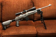 View topic - Ruger Mini 14 gone tactical Zombies, Mini 14, Battle Rifle, Fire Powers, Cool Guns, Guns And Ammo, Firearms, Shotguns, Self Defense