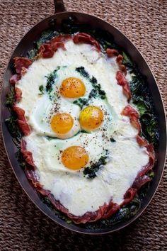 Uove+al+Forno+(Baked+Eggs)