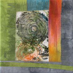 Textile Collage - von Annette Aue - Art & Design