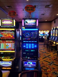 We love getting new machines for our guests. #RailRoadPassHotel&Casino