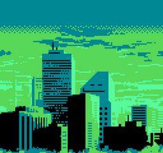 City pixel
