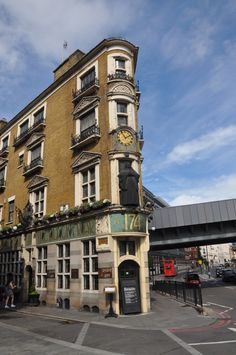 Walk back in time and head to the Blackfriar Pub