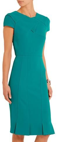 'Linte' Stretch Crepe Dress - Roland Mouret