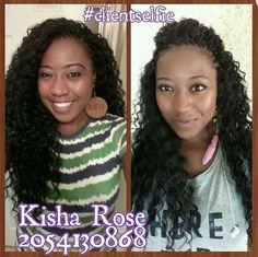 Kisha Rose Styles - Birmingham Crochet Braids