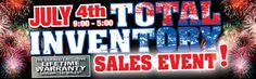 Celebrate the holiday weekend at Gerald Kia of Naperville's July 4th Total Inventory Sales Event! #KentsDeals