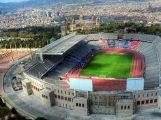 (Olympic stadium on Montjuic - Barcelona) || More info on the blog http://wannabegradstudent.tumblr.com/post/58373523103