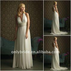OL3063 Newest Drop Shipping Luxury Chiffon Beads A-line Sweetheart Sheath Crochet Wedding Dresses