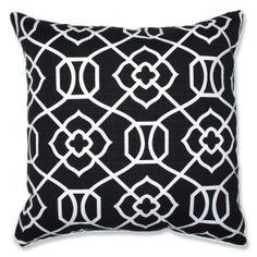 Kirkland Black Pillows