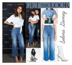 """""""Selena Gomez Revival Tour 2016 Meet & Greet Melbourne,Australia August.6.2016"""" by valenlss ❤ liked on Polyvore featuring CO, Wrangler and American Apparel"""