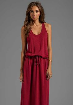 Lanston Racerback Dress | womens red dress | maxi dress | womens style | womens fashion | womenswear | wantering http://www.wantering.com/womens-clothing-item/racerback-dress/aameO/