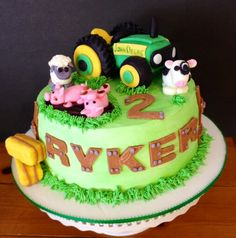 87 Best Farm Cakes For Kids Images In 2019 Farm Cake