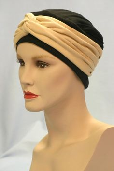 The Anna hat with a Caramel Wrap