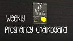 My Sims 4 Blog: Pregnancy Chalkboards by AkaiSims