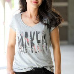 Learn how to make your own graphic tees with these free printables!
