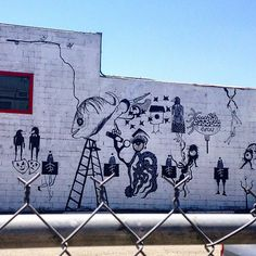 For the Curious.. #hollywood #streetart