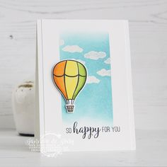 Stampin' Up! - Above the Clouds - So Happy - Happy Stampin' Diy And Crafts, Paper Crafts, Stampin Up Catalog, Above The Clouds, Stamping Up Cards, Diy Cards, Handmade Cards, Pop Up Cards, Scrapbook Cards